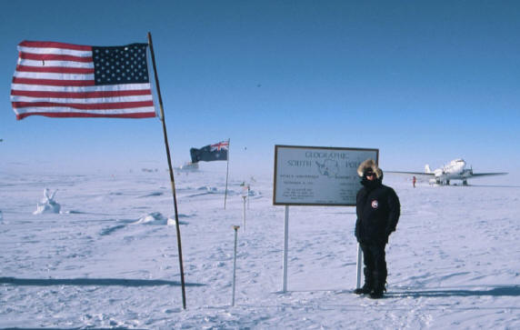 Don Kern at the South Pole